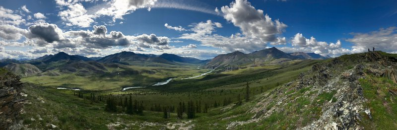 Firth River Valley Pano